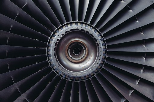 Jet Engine, Turbine, Jet, Airplane, Engine, Technology