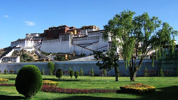 Tibet, Potala Palace, Monastery, Dalai Lama, Budismus