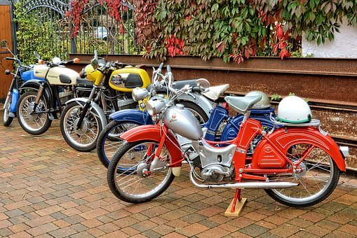 Motorcycles, Motorcycle, Moped, Old Historic, Oldtimer