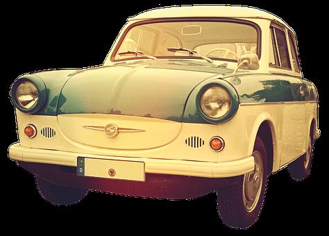 Satellite, Oldtimer, Trabi, Old, Ddr, Auto, Automotive