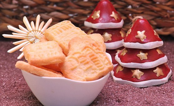 Speculaas, Pastries, Christmas Cookies, Small Cakes