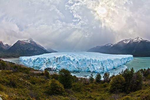 Glacier, Argentina, South America, Patagonia, Ice