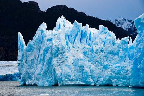Glacier, Patagonia, Ice, Nature, Torres Del Paine