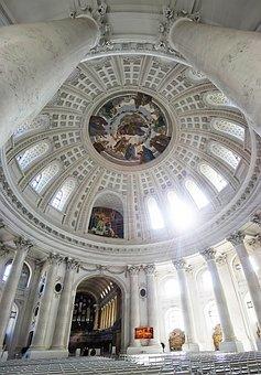 Dom, Blaise, Sankt Blasien, Black Forest, Columns