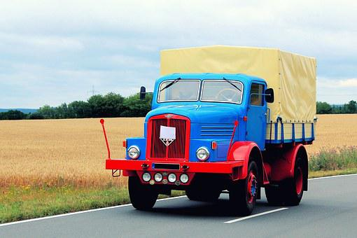 Truck, Old, Historically, Restored, Commercial Vehicle