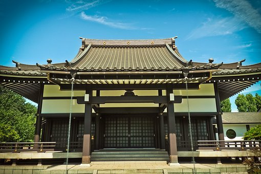 Architecture, Asia, Building, Shrine, Temple Complex