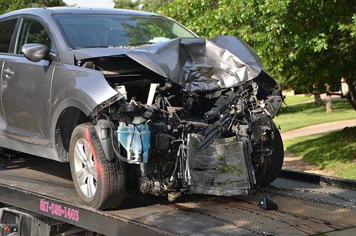 Car, Crash, Wreck, Accident, Automobile, Auto, Vehicle