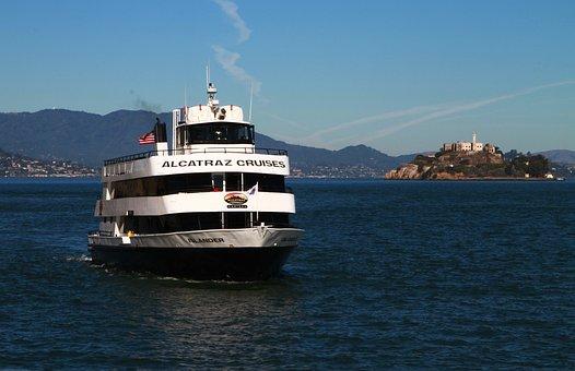 Alcatraz Cruise, Boat, Ship, San Francisco, Tourism