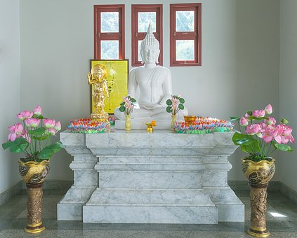 Buddha, Buddhism, Altar, Shrine, Thailand, Asia, Temple