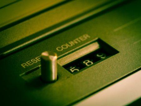 Counter, Tape, Cassette Recorder, Reset, Return, 80s