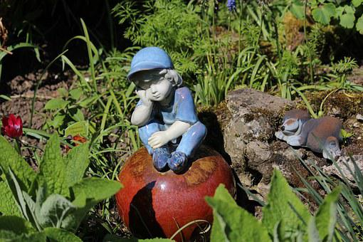 Garden Gnome, Garden, Ceramic, Garden Decor, Figure