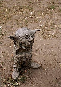 The Figurine, Guy, Character, Gnome, Troll, Ludek