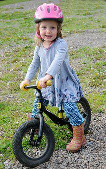 Little Girl, Bike, Bicycle, Child, Girl, Little, Kid