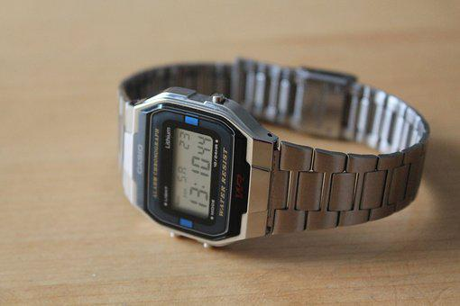 Wristwatch, Digital, Quartz, Gents, Vintage