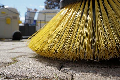 Sweeper, Periodic Brush, Return, Clean, Broom, Dirty