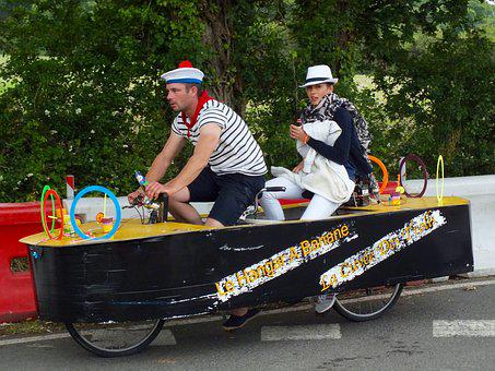Tandem, Héric, Humor, Loire Atlantique, Festival, Bike