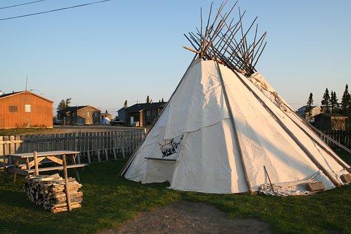 Tipi, Teepee, Sabtuan, Tent, Aboriginal, First Nation