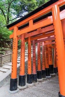 Fushimi Inari-taisha Shrine, Japan, Kyoto, Fushimi