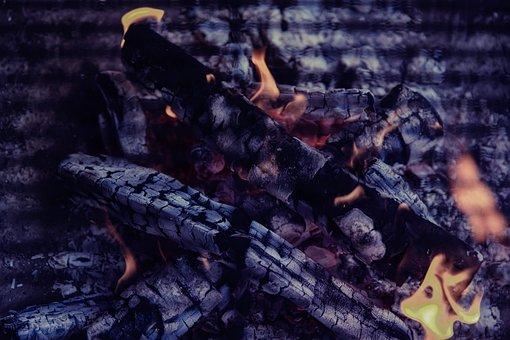 Embers, Barbecue, Fire, Heat, Hot, Flame, Burn, Glow