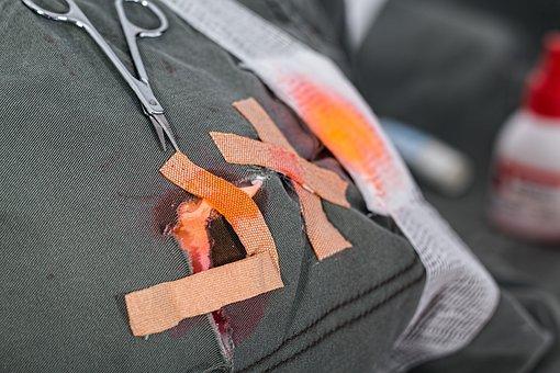 Wound, Injury, Hurt, Band-aid, Elastoplast, Bandage