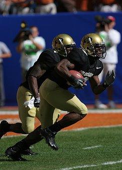 Football, Running Back, Kick Return, American, Running