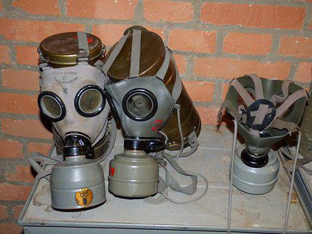 Mask, The Mask, Gas, Contamination Of The, Filter