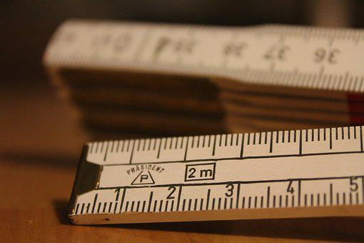 Folding Rule, Measure, Craft, Tape Measure, Meter