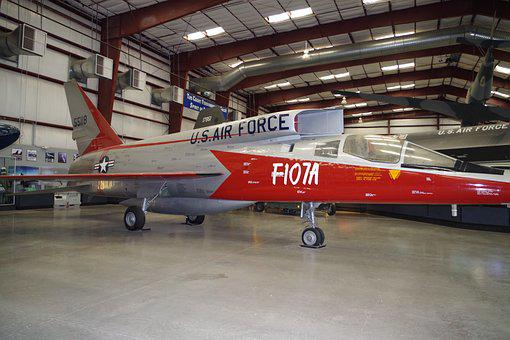 Jet, Plane, Military, Us, Air Force, F107a