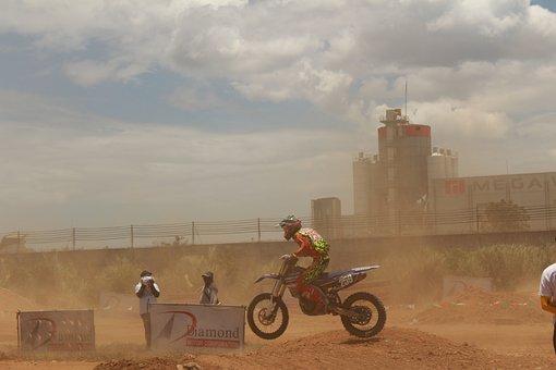 Motorcycle, Motocross, Extreme, Sport, Speed, Motorbike