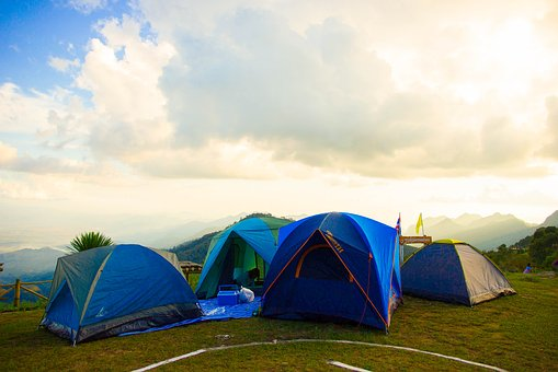 A Tent, Tour, Nature