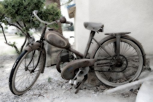 Bike, Old, Two Wheels, Pedals, Bicycle, Transport