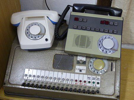 Phone, Switchboard, The People's Republic Of, Old