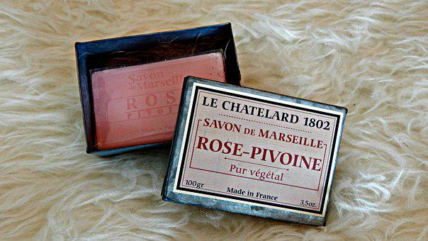 Le Chatelard, Rose, Peony, Soap