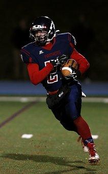 Football, American Football, Runner, Running Back