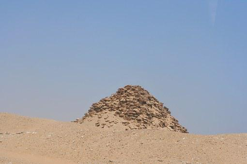 Saqqara, Weathering, Collapse, Staircase, Piramitto