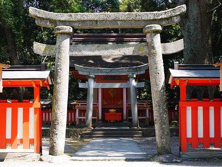 Shrine, Torii, Japan, Shinto, Japanese Style, K