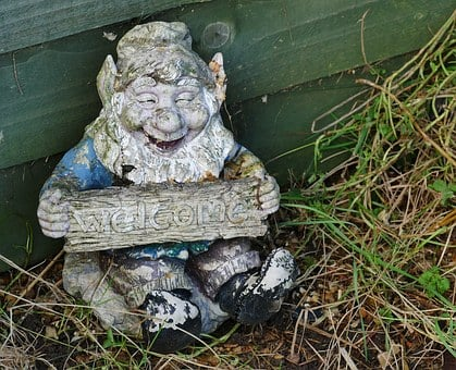 Gnome, Statue, Dwarf, Little, Small, Sculpture, Old