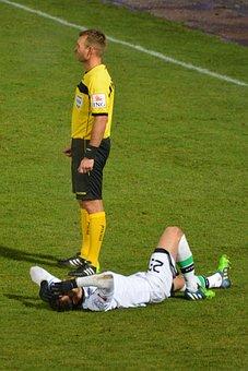 Football, Injury, Sports, Referee, Footballer