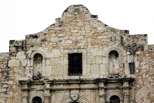 Alamo, Texas, San Antonio, Battle, Mission, Stone
