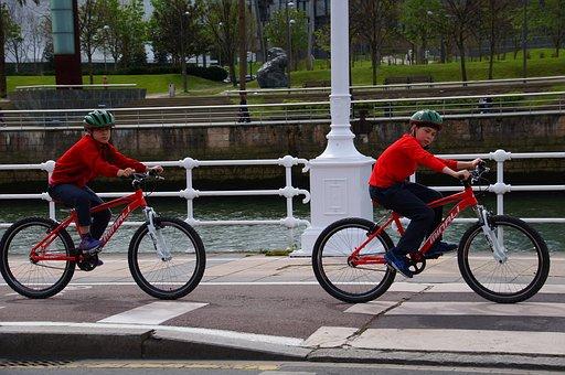 Sport, Two Children Bike, Bilbao