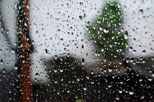 Rain, Window, Weather, Wet, Sad, Grief, Sadness, Autumn