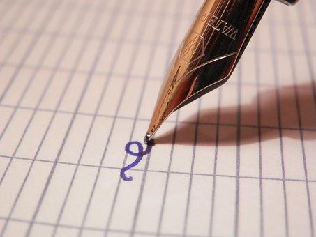 Writing, Return, Diary, Book, Pen, Drafting, School