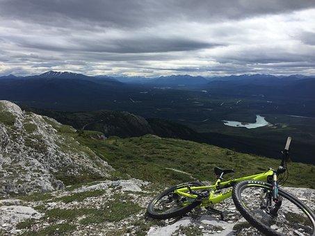 Mountain Biking, Downhill, Grey Mountain, Yukon