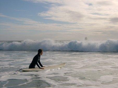 Surf, Wave, Australia, Baron Bay