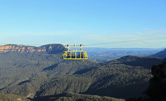 Cable Car, Blue Mountains, Australia, Three Sisters