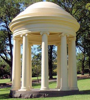Temple, Fitzroy Gardens, Melbourne, Australia, Park