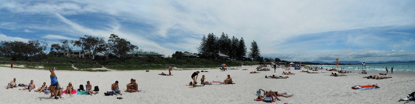 Byron Bay, Australia, Beach, Sea, Ocean