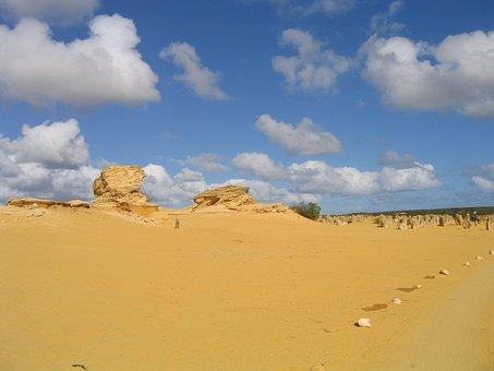 Pinnacles, Desert, Australia, Geology, Yellow