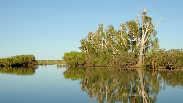Australia, Kakadu National Park, Yellow River