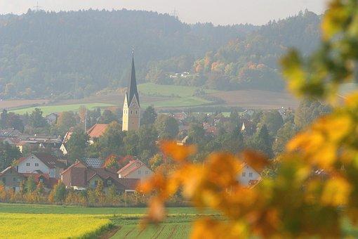 Altmühl Valley, Autumn Mood, Töging